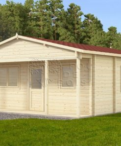 Maison de jardin Baltic 6 m x 6 m, 68 mm